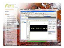Sample Project : Membuat desain materi interaktif, Membuat/ memasang
